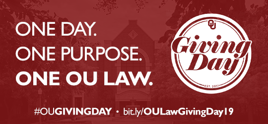 One Day. One Purpose. One OU Law.