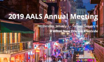 AALS 2019 Annual Meeting in New Orleans